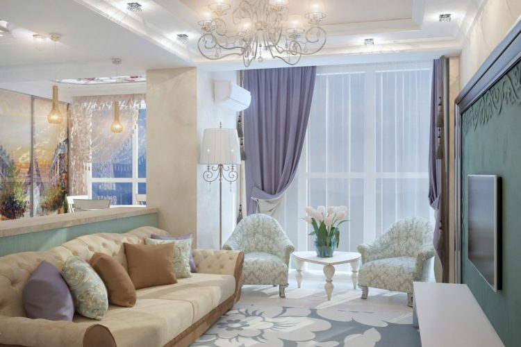 Дизайны квартир прованс