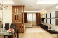 Зонирование помещения при помощи ширм и перегородок