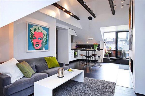 Разные идеи для интерьера квартиры студии