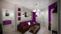 Перепланировка студии в двухкомнатную квартиру не отличается разнообразием возможных вариантов.