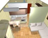 Квартиры студии маленького размера