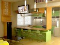 Красивые квартиры студии – доходим до совершенства