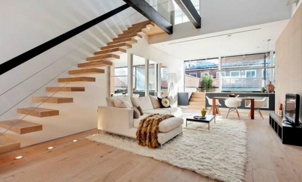 2-х уровневая современная квартира