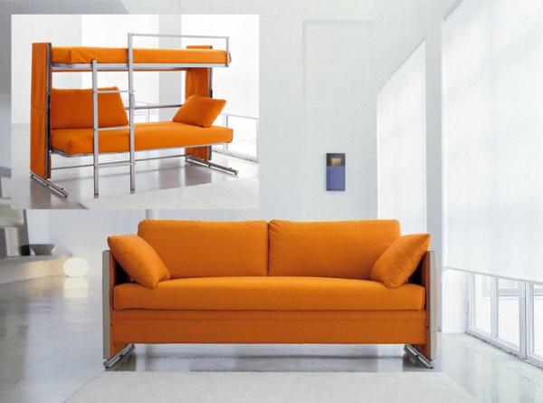 Так как диваны будут исполнять роль койко-места, то они должны быть не только стильными, но и удобными.