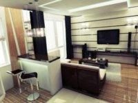 Есть несколько советов по размещению техники и аксессуаров внутри небольших квартир для тех, кого волнует дизайн квартир студий 30 кв. м.