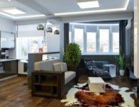 Фото небольшой квартиры с функциональными зонами