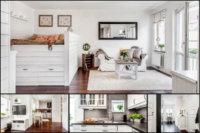 Прежде, чем начинать разрабатывать дизайн проект маленькой квартиры студии, необходимо распланировать все зоны имеющегося пространства.