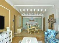 Зонирование пространства при помощи мебели