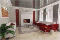 Сочетание цветов и линий в настенном декоре, текстиле, мебели важно в оформлении небольшого пространства.