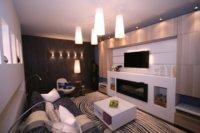 Даже в небольших квартирах можно продумать минимальную площадь, где будут располагаться гости, хотя бы 2-3 человека.