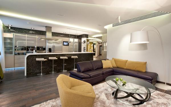 Оформляем гостиную зону