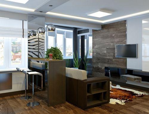 Создать уютную атмосферу и функциональную планировку можно только после осмотра помещения.