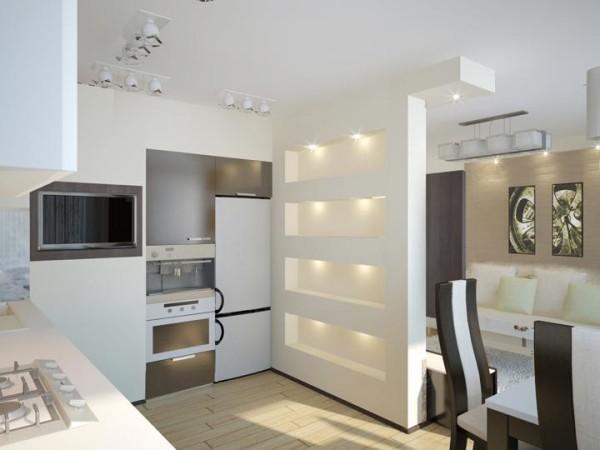 Интерьеры квартир студий 15 кв. м необходимо выполнить таким образом, чтобы использовать при его оформлении как можно меньше мелких деталей и элементов декора.