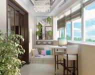 Маленькие квартиры в современных городских домах оснащены, как правило, лоджиями или балконами.