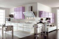Оформление кухни студии