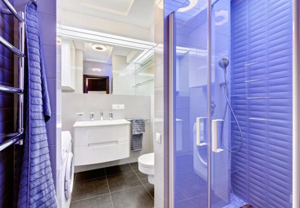 Что касается ванной и туалета, также стоит придерживаться общих тенденций.