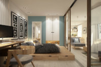 Маленькая квартира при желании может стать уютной и функциональной.