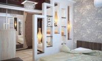 Фото с дизайном квартиры с 2-мя спальнями