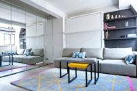 Особого подхода требует используемая мебель для квартиры студии 25 кв. м.
