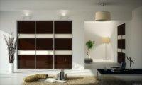 Использование встроенных шкафов и дивана - кровати освободит много полезной площади.