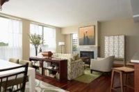 Красивый и уютный дизайн маленьких студий квартир получается при хорошо продуманном зонировании пространства.