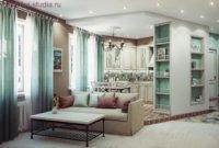 Прованс – это множество декоративных элементов, занавески с рюшами, покрывала и накидки на подушки с вышивкой.