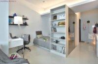 Оформление узкой квартиры студии