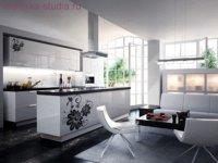 Кухня студия в маленькой квартире становится с каждым годом выгодным вариантом.