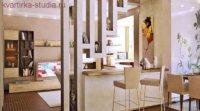 Кухня для квартиры студии идеальное решение, особенно, если в ней слишком мало места.