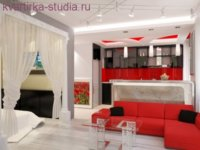 Пример оформления малогабаритной квартиры