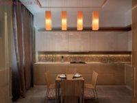 Идеальным вариантом является использование теплых цветов песочного оттенка.