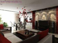 Одним из популярных и неординарных подходов, применяемых при оформлении студий считается дизайн в стиле лофт.