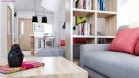 Использование многофункциональной мебели.
