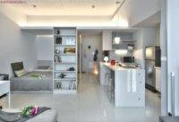 Дизайн такой свободной квартиры можно сделать на свой вкус.