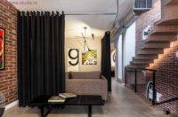 Помещение, освобождённое от громоздких стен, дарит вам возможность разделить полезное пространство на несколько зон.