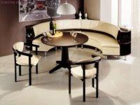 Такая мебель очень компактна.