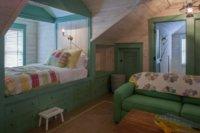«Спальня» должна размещаться в самом отдаленном от входа углу.