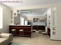 Основное преимущество квартиры-студии интерьер.