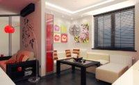 Самый лучший дизайн квартиры однокомнатной студии, который можно было придумать для однокомнатной квартиры-студии – минимализм.