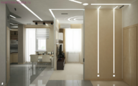 Дизайн квартиры 2 х комнатной студии: распределяем пространство.