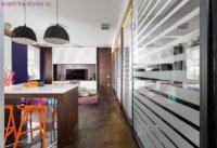 Оформление на 50-ти квадратах: студия дизайн однокомнатной квартиры.