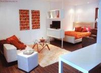 Самим трудным вариантом является совмещение спальни и гостиной.