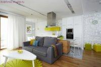 Универсальный вариант для маленькой квартирки с семьей.