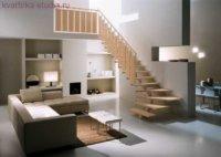 Традиционный вариант оформления квартиры студии.