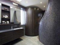 Изящный модерн в ванной комнате.