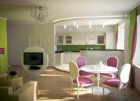 Делая своими руками студию из однокомнатной, сносят стену, разделяющую кухню и комнату.