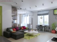 Квартира интерьер-студия: особенности планировки