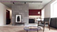 Главная задача при оформлении квартиры-студии – это грамотное зонирование пространства.