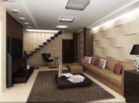 Двухуровневая квартира студия интересный проект для пары.
