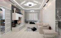 Этот стиль предполагает использование высоких технологий, которые грамотно вписаны в дизайн жилого помещения.